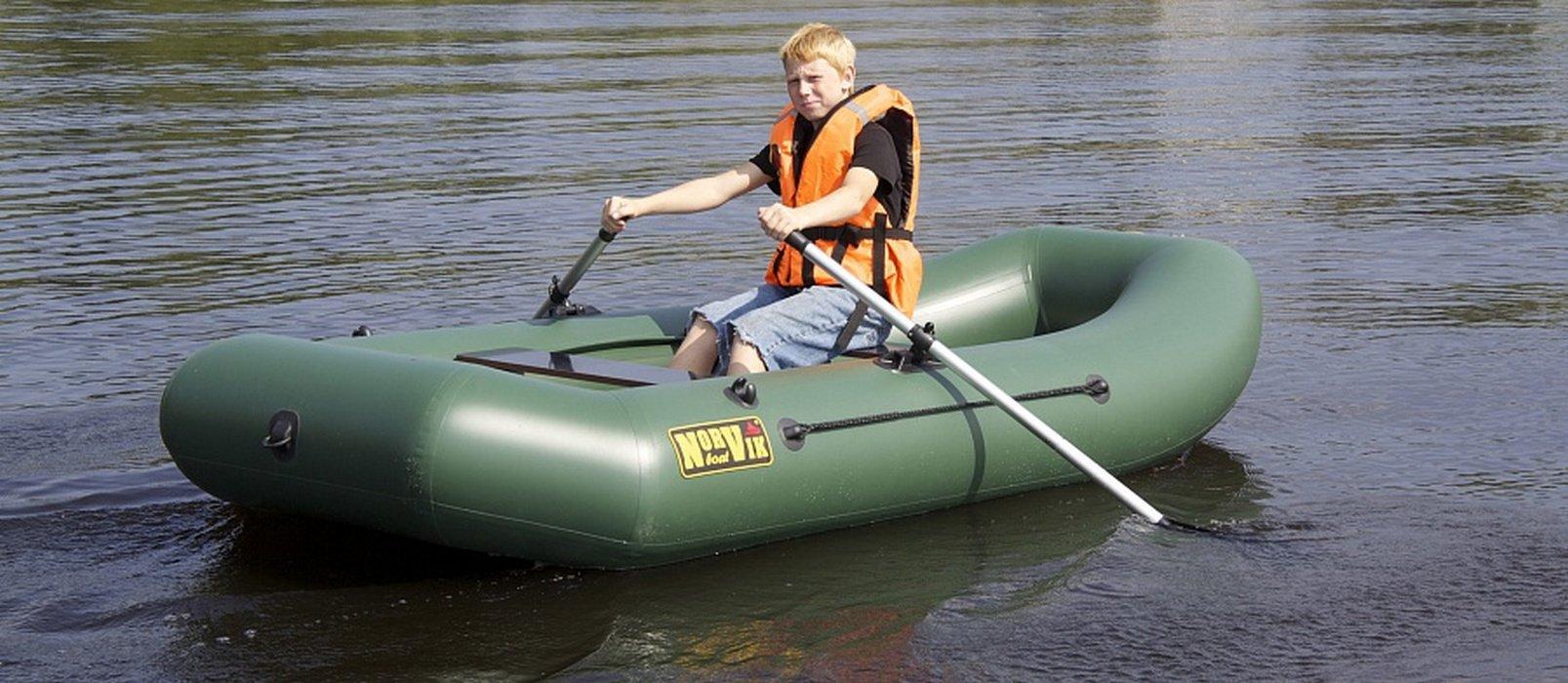 выбираем гребную лодку